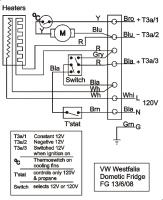 VW Fridge Circuit
