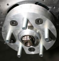 Airkewld front disc brake installation