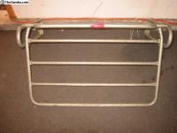 Flat Rear Rack, Decklid, Rare, Accessory