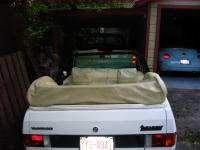 1981 Rabbit Convertible tonneau cover