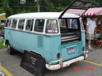 `63 Turkis-B white 15 window Columbus Ohio Volksfest `09