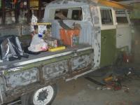 Passenger side welding done