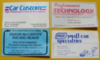Some old VW business cards