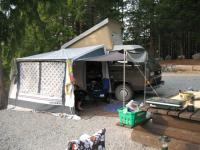 2009 Camping Grey lake Vancouver Isalnd