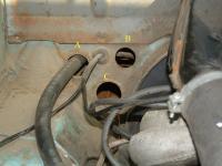 Bus Engine Compartment Holes