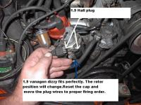 1.9 vanagon dizzy to thing