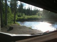 Yukon campsite from EVC