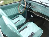 61 Beetle Como Green & Phosphor interior