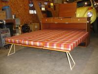 Camping-Box unpacked and set up at Monkey Nut VW