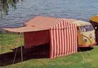 Early Westy Tent with cover flap