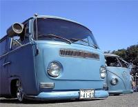 Twin Blue Buses !!