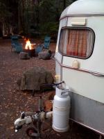 My Eriba Puck camping in September 2009 in Redwoods