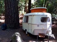 My Eriba Puck camping in September 2009 in Redwoods