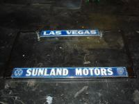 Sunland Motors dealer frame #2