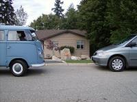 new van old van
