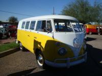 Yellow Standard Microbus