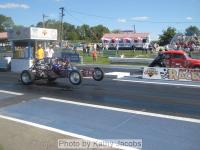 Drag racing at Pittsburgh 2009