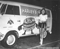 Vintage Bus at Harvey's circa 1958