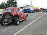 Amy Making Passes In Old Fastyme Gasser
