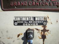 Continental Motors Denver, CO dealer sticker