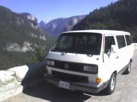my van in yosemite