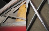 71 westy pop top hinge repair