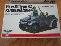 Bandai 1/48 scale Kubel and Schwimm models