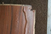 78 Camper bus faux wood grain panel contact paper shrinking