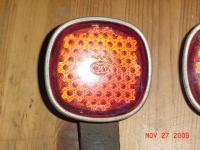 OG Hella Type1 pre 56 Reflectors and brackets