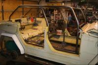 Play Thing roll cage underway