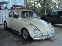 xmas lights on mu 1967 bug