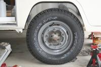 """15"""" Rims and 215 70 15 LT on my Westy"""