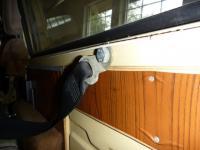 3 point rear seat belt