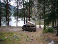 Camping on the Main Salmon River