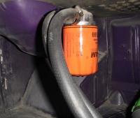 External Oil Filter