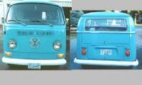 the front and rear 1969 deluxebus all clean for the Gcvws