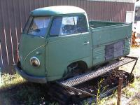 58 single cab on a snow at chassis