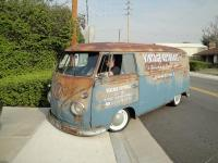 Vintage Autohaus Shop truck in California