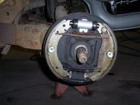 Super Beetle  Rear brakes