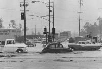rainy socal day Crenshaw Bl. 1965
