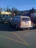 My bus & a squareback