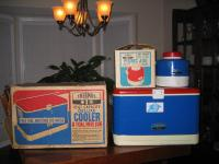 Coolers with original boxes