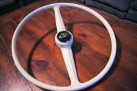 Got my steering wheel back from Koch's