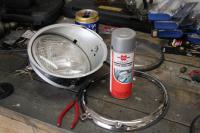 First headlight bucket rebuild