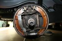 1960 rear brake assembly II