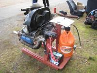 engine on engine start stand