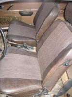 Stock 1969 Ghia khaki brown Interior