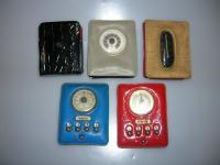 cigarette box with magnet for dash-board