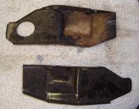Rear deflector tins