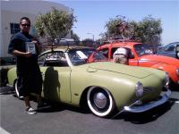 Hugo from Just Cruzin and his 69 Ghia